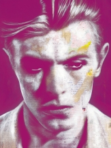 David Bowie © André Monet, www.lumas.com