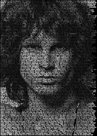 Jim Morrison © Ralph Ueltzhoeffer, www.lumas.com